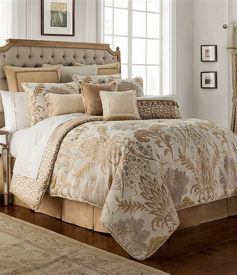 jacquard comforter sets waterford ansonia floral jacquard comforter set dillards