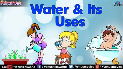 water uses water its uses