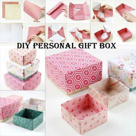 diy step up box diy personal gift box diy comfy home