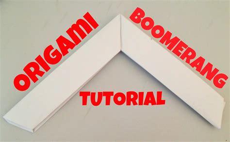 origami boomerang easy origami boomerang tutorial l jasminestarler