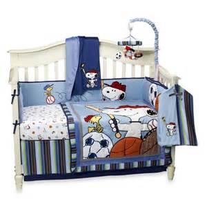 snoopy bedding lambs team snoopy bedding boys will be boys