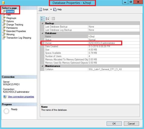 sql query to change table name how to change the database owner in sql server how to
