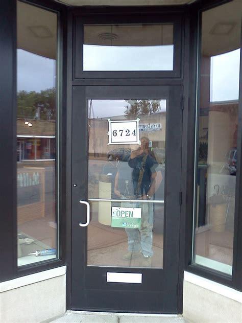 store front glass doors storefront doors hinge 3 u00270 x 7 u00270 right