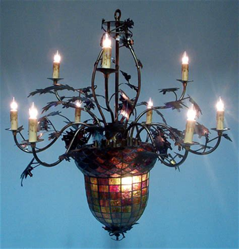 oak leaf chandelier rustic chandeliers acorn oak leaf chandelier black