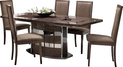 modern furniture dining sets platinum slim dining modern formal dining sets dining