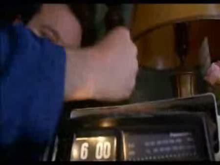 groundhog day alarm clock digital mechanical flip type alarm clocks
