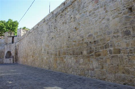 wall with file fragments of cluj city walls from potaissa