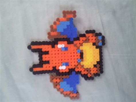charizard perler charizard perler by freakinflip kandi photos on kandi