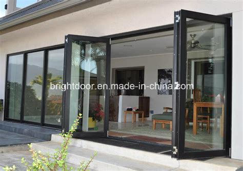 bi fold glass doors exterior cost china aluminium bifold decorative door bi folding doors