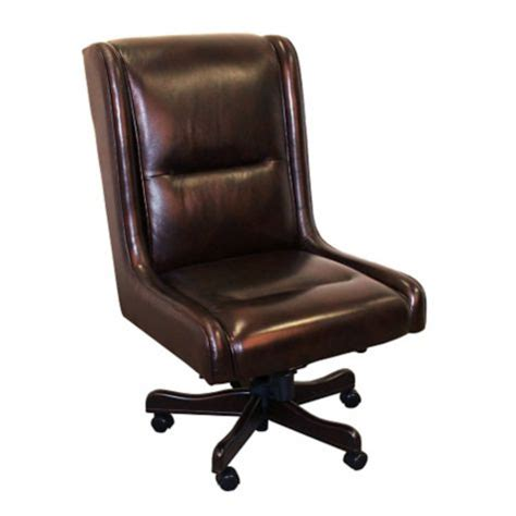 Armless Leather Desk Chair by Prestige Armless Desk Chair In Leather 8803788