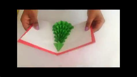 pop out tree card how to make a 3d tree pop up card