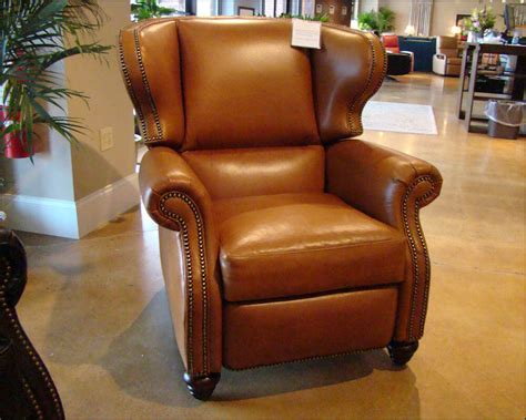 leather wingback recliner wingback leather recliner american made cl735