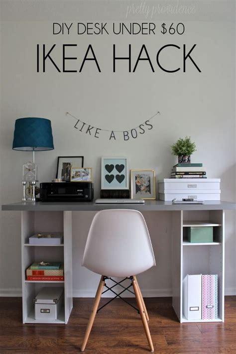 ikea hacks office 20 cool and budget ikea desk hacks hative
