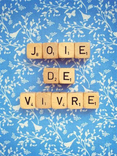 is vie a word in scrabble 1000 idee 235 n joie de vivre op