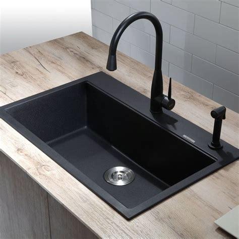 granite kitchen sink reviews sinks extraordinary black granite sink black kitchen sink