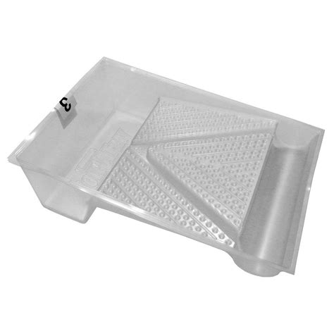 home depot paint tray liners 9 in plastic tray liner hd rm 911 the home depot