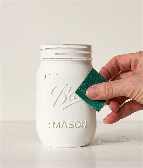 how to distress acrylic paint on canvas marimekko jar jar crafts