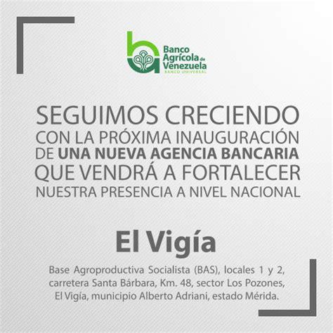 banco agricola de venezuela banco agr 237 cola de venezuela