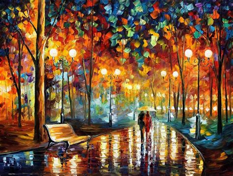 painting palette knife modern impressionism palette knife painting kp067