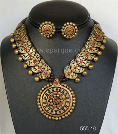 how to make terracotta jewelry terracotta jewellery jewelry