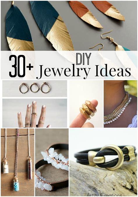 diy jewelry ideas 30 diy jewelry ideas artzycreations