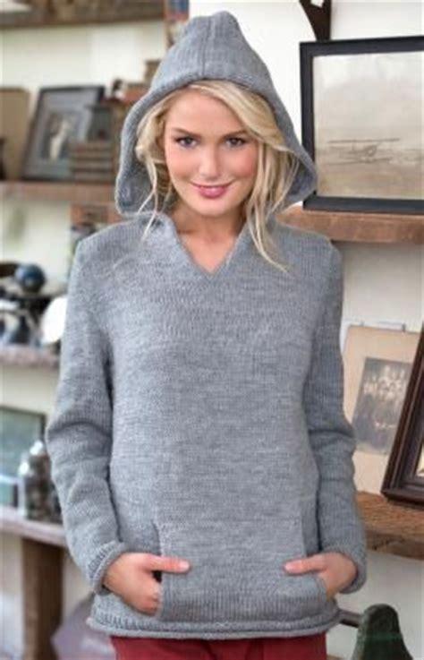 knitted hoodie pattern womens hoods and hoodies knitting patterns in the loop knitting