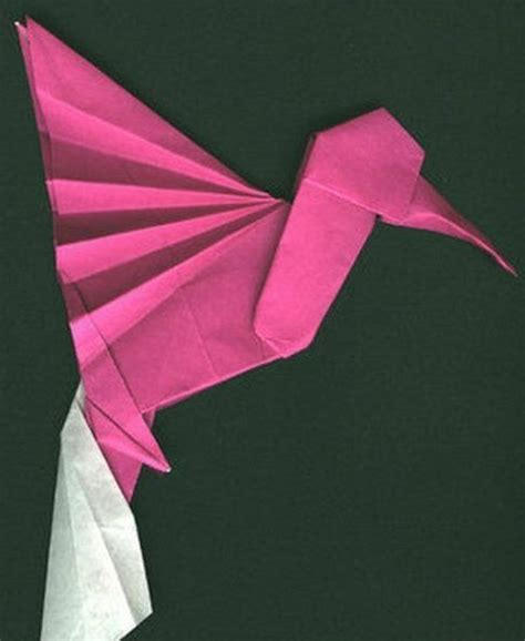 origami hummingbird tutorial hummingbird origami tutorial creative world
