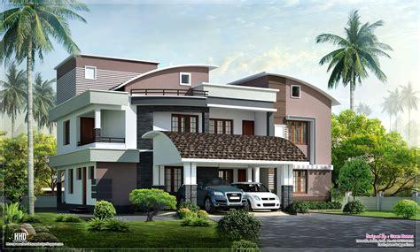 modern house styles modern style luxury villa exterior design home kerala plans