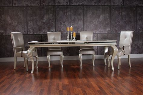 swank dining set swank dining set transitional dining room miami by el dorado furniture