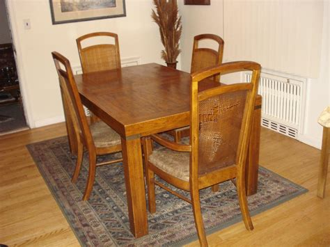 vintage dining room tables vintage dining room table and chairs 12246
