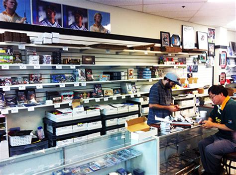 card shops great sports cards gaming memorabilia shops to visit