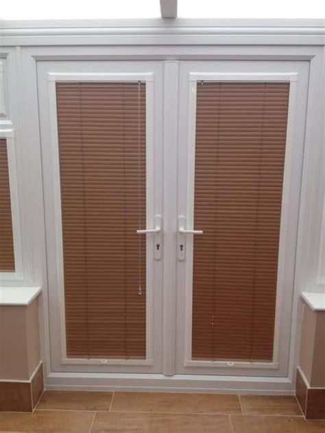 venetian blinds patio doors a set of perfectfit venetian blinds in doors by