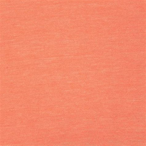 coral knit fabric coral solid cotton jersey tri blend knit fabric