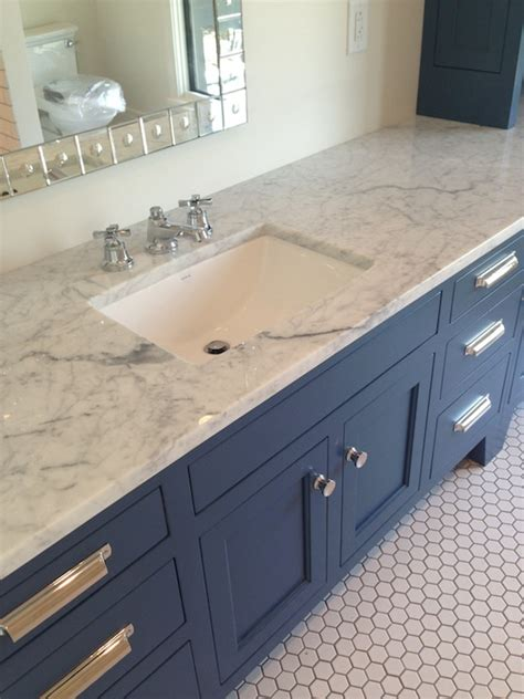 blue vanity bathroom blue vanity contemporary bathroom tracery interiors