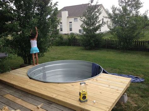 4 Bedroom Apartments San Diego galvanized stock tank turned diy pool home design