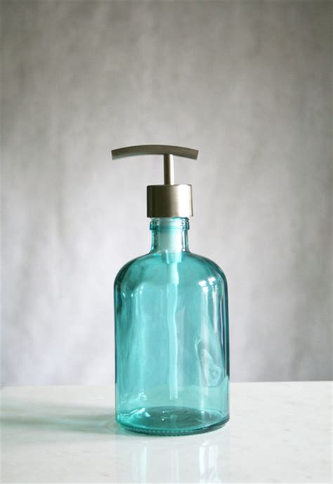 recycled glass bathroom accessories rail19 recycled glass soap dispensers mediterranean