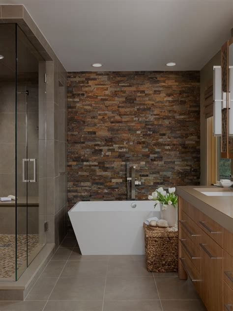 tile designs for bathroom walls accent wall ideas to make your interior more striking homestylediary