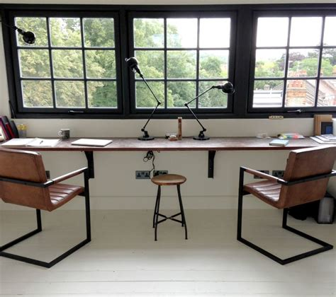 industrial style office chairs mad about the house