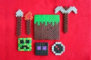 ideas for perler perler on hama minecraft and