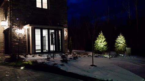 landscape lighting our work toronto landscape design