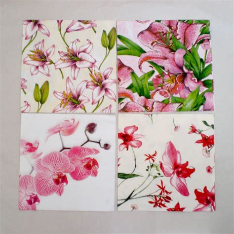 using napkins for decoupage decoromana paper napkins for decoupage also known as a
