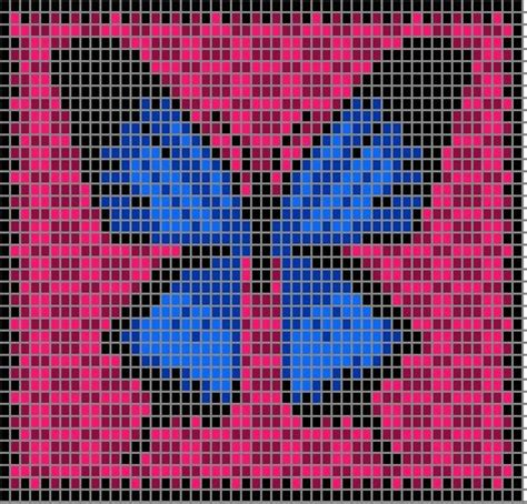 butterfly knitting chart 17 best images about intarsia on