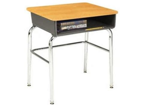 school desks open front school desk woodstone top u brace acf