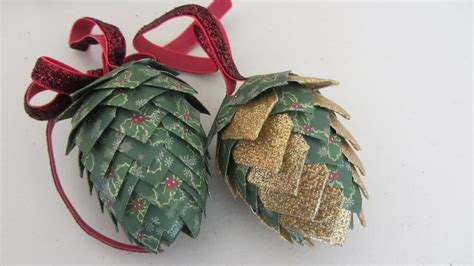 Primitive Home Decor Coupon Code paper pinecone christmas ornament styrofoam egg shape