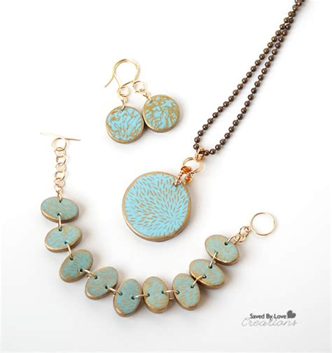polymer clay jewelry tutorials how to make silkscreen polymer clay jewelry tutorials