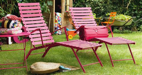 bistro chaise longue garden deck chair