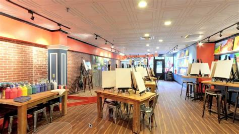 View Inside Of Muse Paint Bar