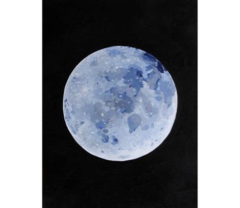 acrylic painting moon original acrylic painting of the moon the by wendyvanselow