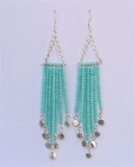 how to make bead earrings at home 25 best ideas about bead chandelier on beaded