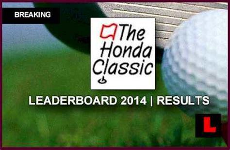 Honda Classic Leaderboard by 2007 Honda Classic Golf Results